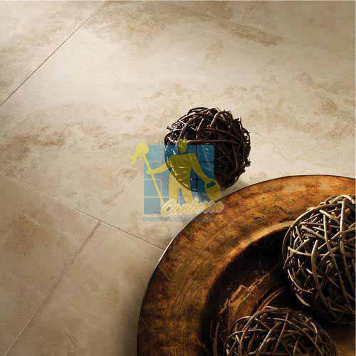 Polished Limestone Tile Applestone Sealing