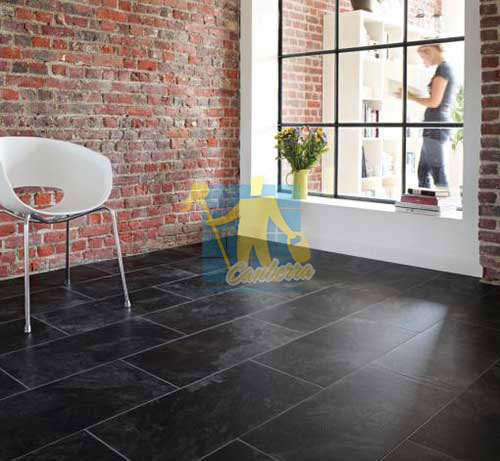 Tile Cleaning Carrara slate tile atlas floor light grout empty room