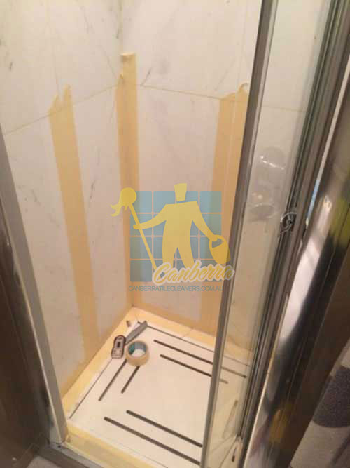 Woden Valley  during cleaning bathroom wall grout lines Woden Valley