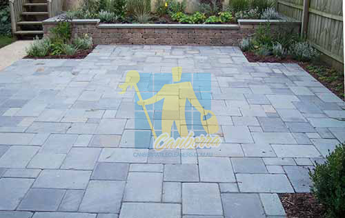 bluestone pavers outdoor tumbled grey no grout
