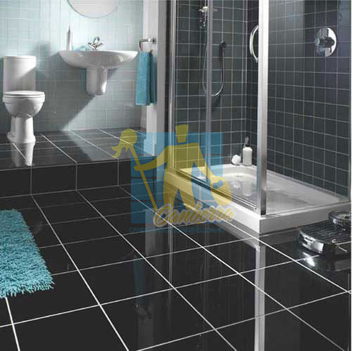 bathroom black granite tiles