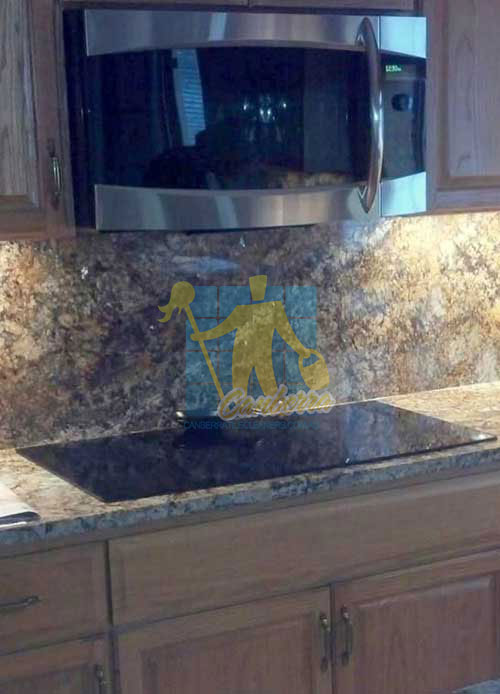 Canberra polished granite counter-tops