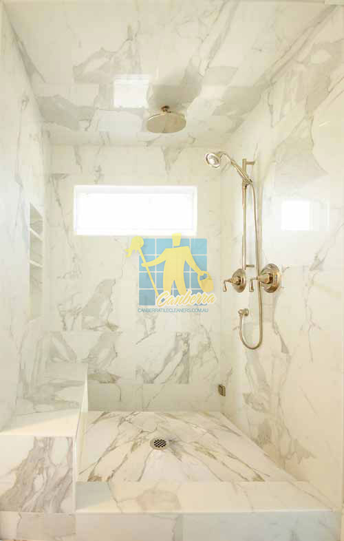 marble tiles shower wall floor calcutta polished luxury bathroom