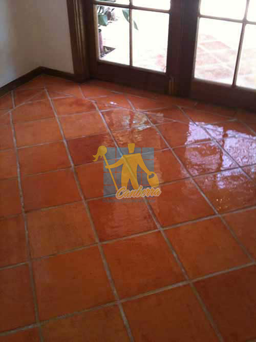 terracotta tiles after sealing Canberra