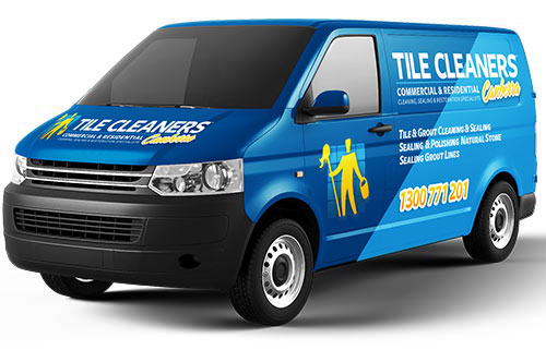 Canberra Tile Cleaners Van