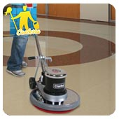 floor polish machine